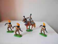 Britains Knights - soldiers and knight on horse
