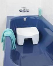 new non slip bath shower bathroom seat stool bathing disability aid travel uk