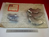 LEYBOLD AG 88278 HIGH VACUUM CLAMPS ASSEMBLY WITH SCREWS AS IS #62
