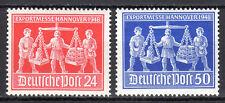 Germany / Allied zone - 1948 Fair Leipzig - Mi. 969-70 MNH