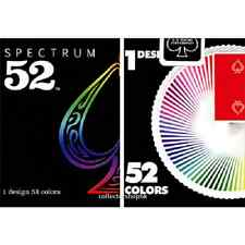 Bicycle Spectrum 52 Deck Playing Cards USPCC Poker Rainbow Ellusionist T11 D&D