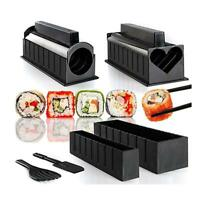 10PC DIY Sushi Making Kit Rice Roller Mold Set For Beginners Best Kitchen New