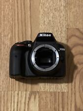 "Nikon D D3300 24.2MP Digital SLR Camera - Black (Body Only) ""READ DESCRIPTION"""