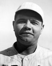 Vintage, Famous Babe Ruth Photograph Large Restored Reprint
