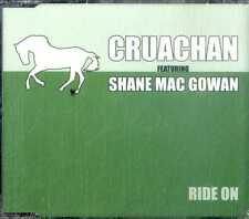 CRUACHAN (feat. Shane Mac Gowan) Ride On CD Single NEW Sealed