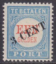 P27 Portzegel 1906-1909 overduk zwart postfris (MNH)