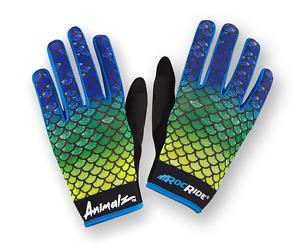 RocRide Animalz Cycling Gloves El Dorado. Full-Finger and Screen Compatible Tips