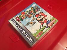Super Mario advance / Mario Bros 2 / Game boy advance / NEUF sous blister