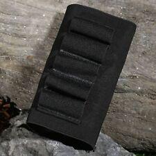 Elastic Nylon 5 Round Shotgun Shell Cartridge Ammo Bullet Holder Outdoor Hunting