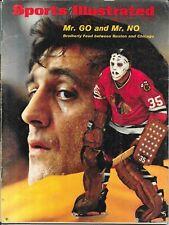 Sports Illustrated 1971 PHIL TONY ESPOSITO Boston Chicago NHL Hockey NO LABEL