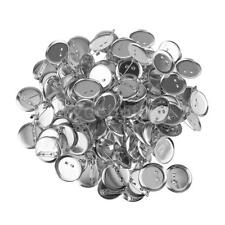 95pcs Cabochon Round Blank Setting Base Pin Brooch 20mm for Jewelry Findings