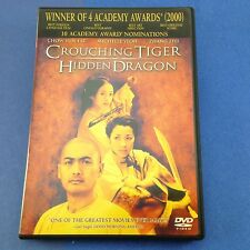 Crouching Tiger, Hidden Dragon (Dvd/2001) Ang Lee Chow Yun Fat/Michelle Yeoh