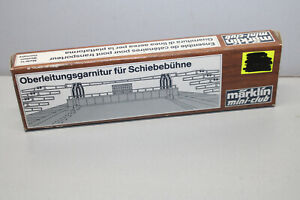 Märklin 8995 Mini Club Overhead Cable Trimming To Transfer Table Z Gauge Boxed
