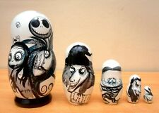 "Russian Nesting Dolls ""The Nightmare before Christmas"" Jack Skellington. 10cm."