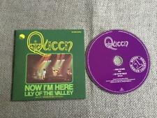 Queen Freddie Mercury CD Single Now I'm Here / Lily of the Valley  Card Sleeve