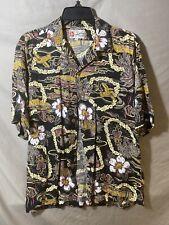 Hilo Hattie Hawaiian Shirt Small