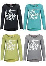 Damen-Sweatshirts mit Motiv aus Polyester