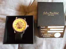 Graf von Monte Wehro Uhr. Handaufzug.gelbes  Zifferblatt.aus Sammlung.1 tag