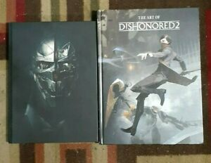 Dishonored 2 Hardback Official Strategy Game Guide & The Art Of Dishonored 2