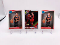 READ 2018 Donruss Rated Rookie TRAE YOUNG RC #198 Lot of 2 + 2nd Year Optic READ
