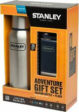 Stanley Adventure Gift Set Vacuum Flask 739ml Pocket Flask 148ml