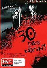 30 DAYS OF NIGHT (DVD) REGION-4, LIKE NEW, FREE POST IN AUSTRALIA