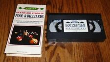 """Byrne's Standard Video of POOL & BILLIARDS Volume 1 {VH} """"A Step by Step Guide"""""""