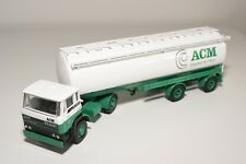 ± LION CAR DAF 2500 TRUCK WITH TRAILER BULK SILO ACM NEAR MINT CONDITION