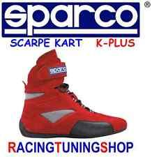 SCARPE KART SPARCO K-PLUS 39 ROSSE SPARCO SHOES SCHUHE  KART SPARCO cipő BUTY