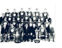 1962 1963 TORONTO MAPLE LEAFS 8X10 TEAM PHOTO  HOCKEY NHL STANLEY CUP CHAMPIONS