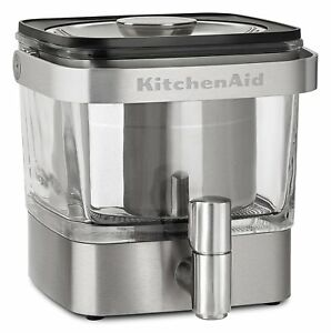 KitchenAid RKCM4212SX Cold Brew Coffee Maker Dispenser Brushed Stainless Steel