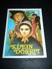 LITTLE DORRIT, film card [Derek Jacobi, Alec Guinness, Sarah Pickering]