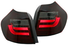 Ultra BMW 1 Series 04-06 Red & Smoked LED Light Bar Rear Back Tail Lights Lamps