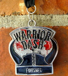 Warrior Dash Finisher Medal Red Frog Events Defunct
