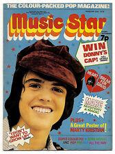 MUSIC STAR Magazine 24/2/1973 Marc Bolan Sweet Suzi Q David Cassidy Donny Osmond
