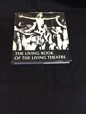 Judith Malina The Living Book Of Living Theare Rare Signed Autograph Book