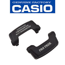 Original CASIO Protek PAG-240 PRG-130 PAW-1500 Cover End Pieces 12 & 6 hrs