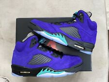 Jordan 5 Retro Alternate Grape Size 9.5 Brand New 100% Authentic In Hand