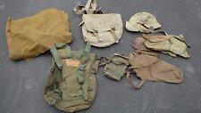 WW11 MILITARY UNIFORM EQUIPMENT GLOVES BACK PACKS HATS WOOL BLANKET