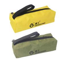 sac de rangement en tissu outils de réparation matériel sac à main zip