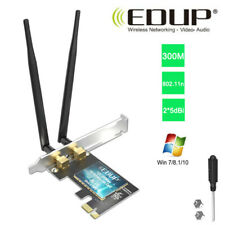 EDUP AC300Mbps PCI-E WiFi Adapter for PC Desktop 802.11n Wireless Network Card