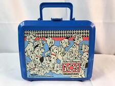 101 Dalmatians Lunch Box Aladdin Brand Blue Vintage
