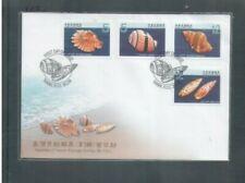 Taiwan RO China, 2009 Seashell fdc