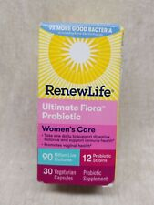 Renew Life Ultimate Flora Women Complete  90 Billion  - 30 capsules. Fast Shipp