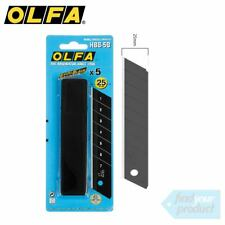 OLFA ULTRA SHARP 25MM BLADES  - HBB-5B ( NON SLIP, UTILITY, STANLEY )