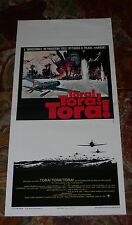 LOCANDINA, TORA! TORA! TORA!, PEARL HARBOR,YAMAMURA,AVIAZIONE, RARA 1a EDIZIONE,