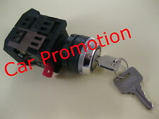 Motorschalter Schlüsselschalter 230 Volt Maschinenschalter Schlossschalter