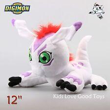 Japan Digimon Adventure Digital Gomamon Monster Plush Doll Toy 12'' Xmas Gift