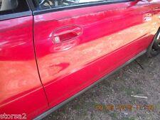 92 93 94 95 96 HONDA PRELUDE PASSENGER DOOR SHELL RED OEM