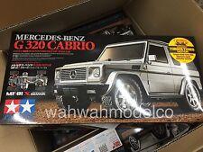 Tamiya 58629 1/10 Rc Mercedes-Benz G 320 Cabrio - Mf-01X